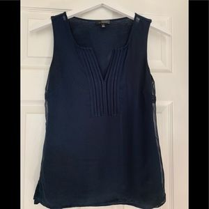Navy The Limited tank - size S